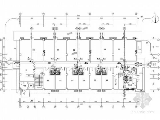 [湖南]三层商业服务楼给排水施工图(含地下车库)