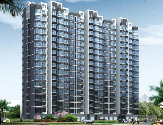 32层框架结构住宅楼建筑安装工程造价指标分析