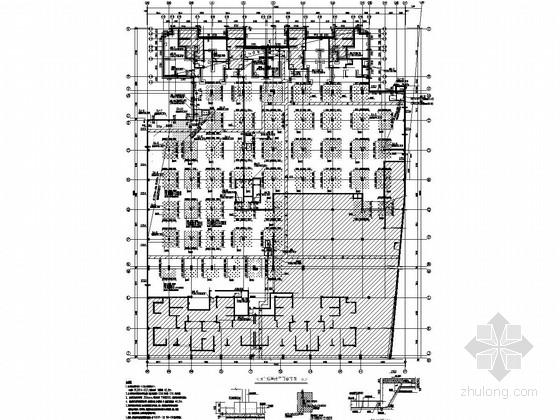 组合楼盖地下车库结构施工图
