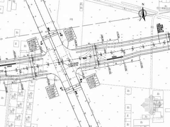 [安徽]城市次干路道路工程施工图设计60张