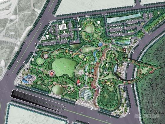 [天津]自然生态绿地公园景观规划设计方案