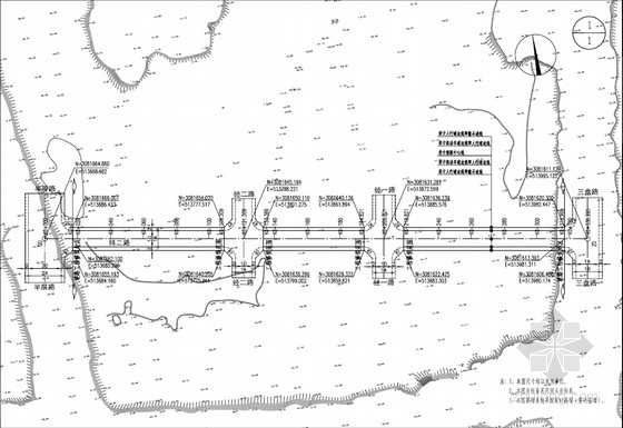 [pdf]双向二车道城市支路工程全套施工图(30张 道路 交通工程)