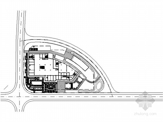 [温州]滨湖住宅景观绿化设计施工图