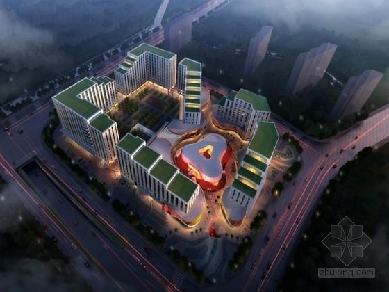 [上海]大型商业综合体规划方案文本