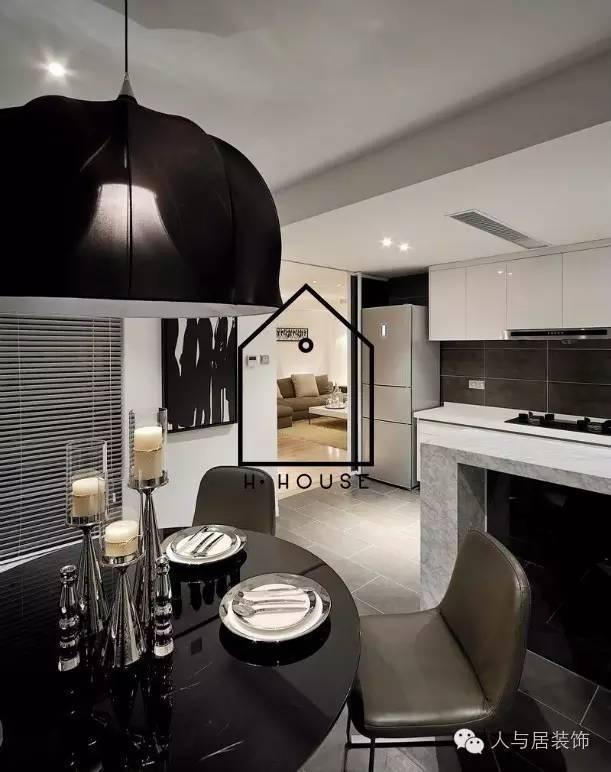 室内设计--黑白简约主义_4