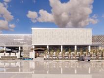 [湖北]绿地武汉光谷中心城售楼处概念方案设计(2018年)