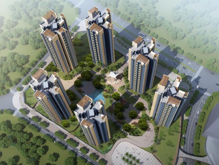 [广东]大运新城南区住宅建筑方案设计(欧陆风格)