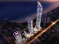 [山東]青島KPF海天中心建筑方案設計文本(五星級酒店,商務寫字樓)