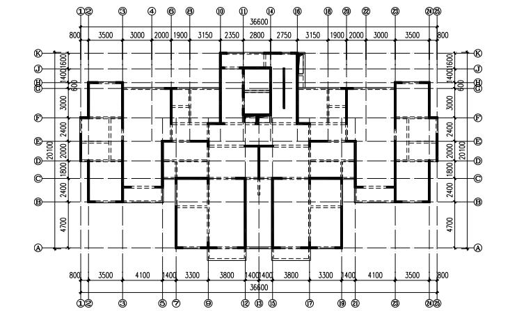 大底盘多塔超高层结构设计与分析论文