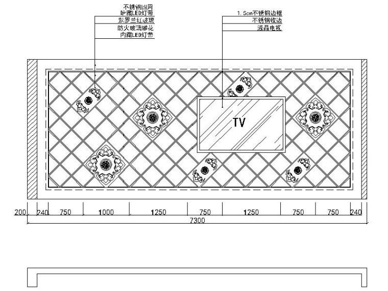 [北京]时尚个性新锐量版式KTV室内设计施工图_3