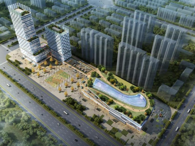 北京某大厦风冷热泵机组安装工程施工组织设计(word,43页)