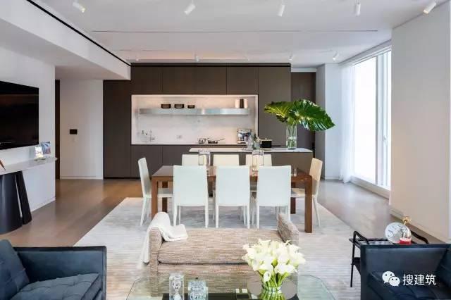"""万科在纽约开发的""""新地标住宅"""",高200米,1000-1600平方英尺的_11"""