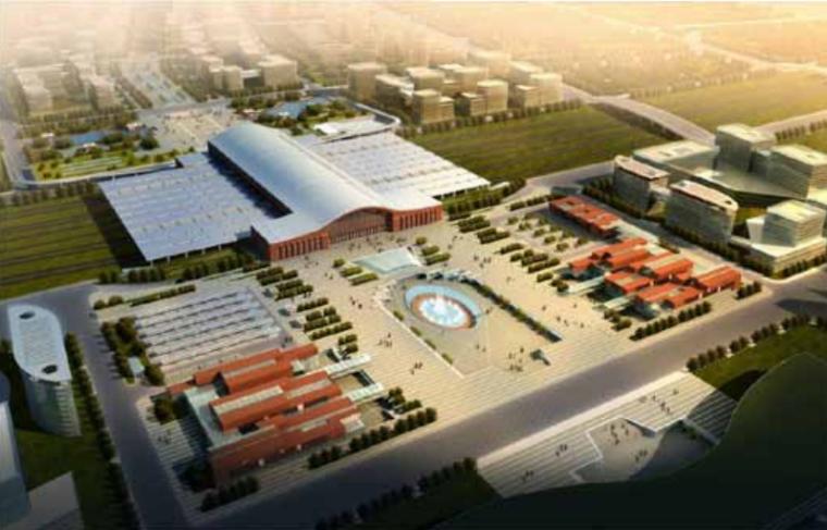 最佳BIM工程设计奖二等奖哈尔滨西火车站东广场地下枢纽