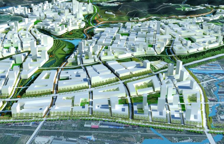 UA城的平凡建筑资料下载-[辽宁]SASAKI融科未来城建筑设计方案文本