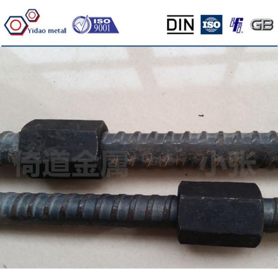 精轧螺纹钢M2032*45精轧螺母精轧连接器钢筋套筒