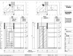 虹桥花园别墅室内装修设计施工图及效果图
