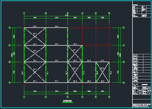 菜市场管桁架施工图_7