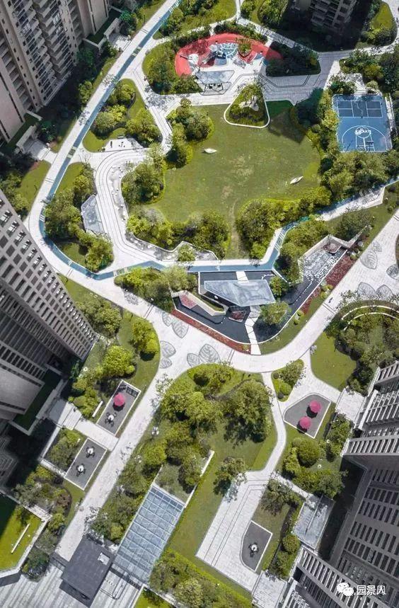 景观中庭,建筑群的心脏!_5