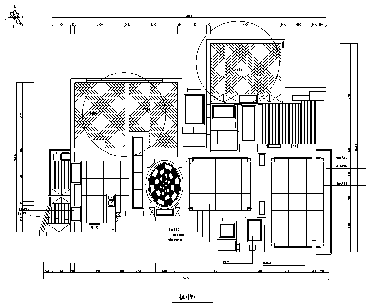 【辽宁】蓝白基调浪漫住宅空间设计施工图(附效果图)_2