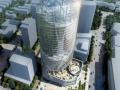 高层现代风格合肥四牌楼商业综合体建筑设计方案文本