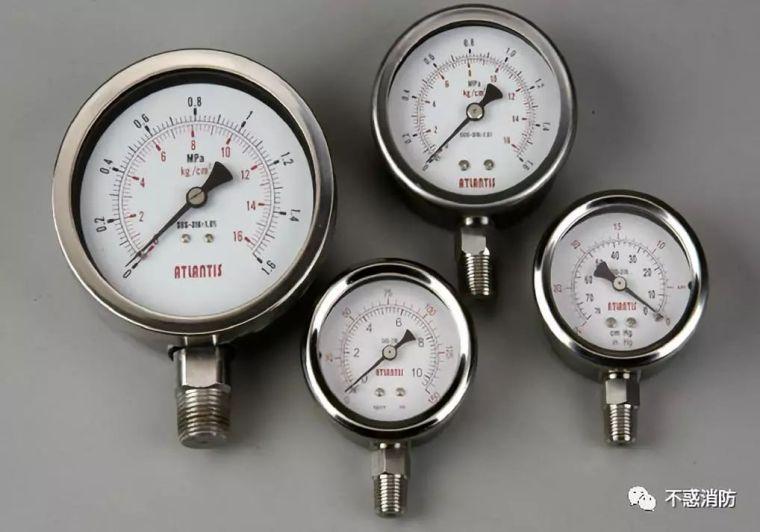 """消防水系统中的各种""""压力"""""""