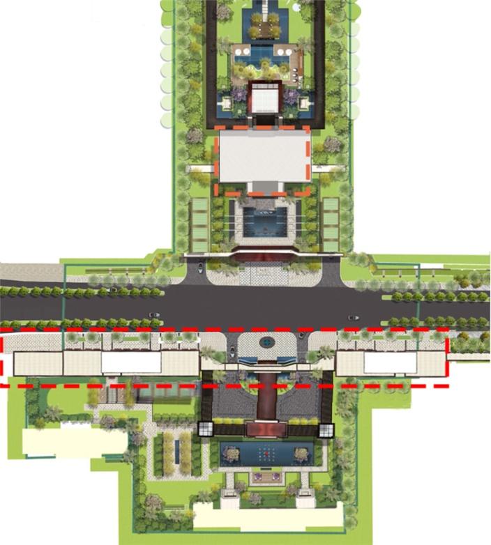 南京绿地海珀滨江商业街场景-15