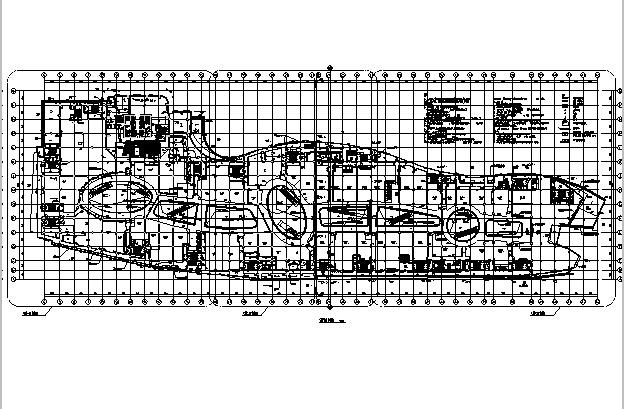[江苏]高层多动能框剪结构商业街建筑施工图_9