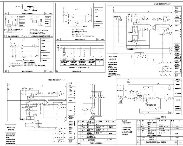汉裕金谷-电气设计全套施工图(含10KV配电、10/0.4KV变配电系统,建筑设备监控系统)_10