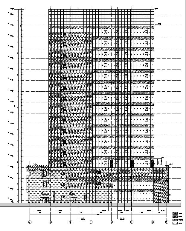 [上海]高层商业办公综合体建筑项目全套审图版