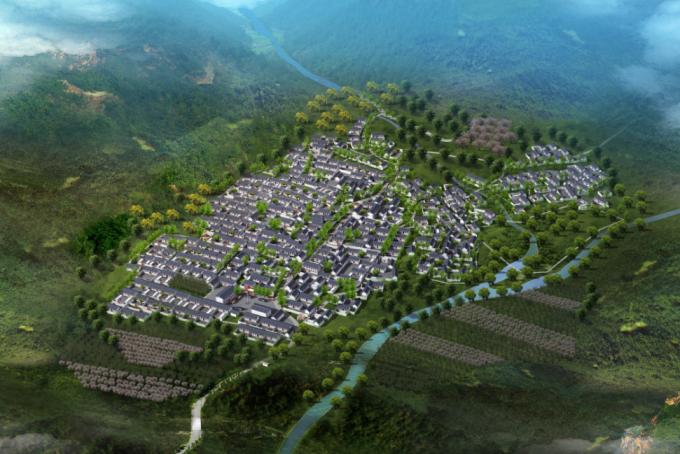 [河北]生态乡野深山美丽乡村景观改造设计方案(附详细资料汇编)