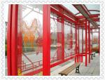 金属氟碳漆涂装候车亭仅两道工序提供15年防护