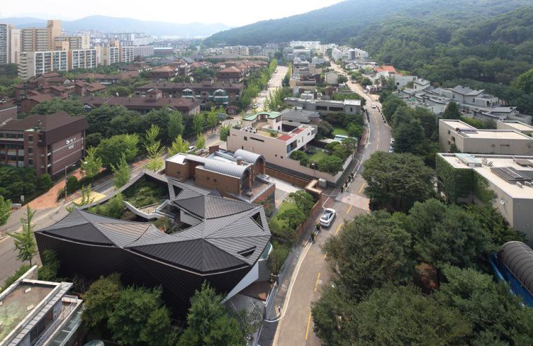 闲庭悠步,韩国首尔江南区GAONJAI住宅_2