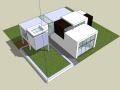 建筑设计大师海杜克SU模型合集(共4套)