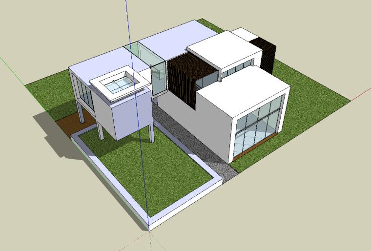 建筑设计大师海杜克SU模型合集(共4套)_2
