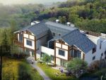 两户双联式别墅建筑施工图设计