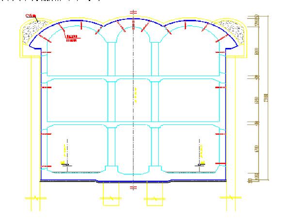 地铁车站主体结构二衬施工方案