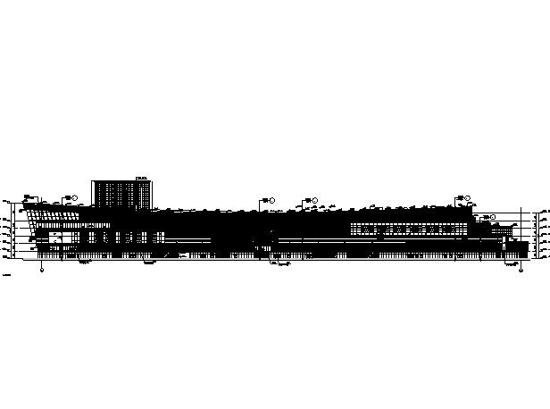 [江苏]高层多动能框剪结构商业街建筑施工图_2