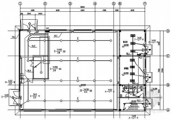 设备制造车间全套电气施工图纸