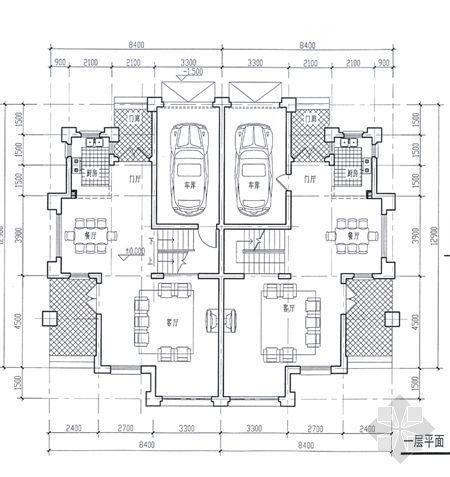 某别墅平面图及效果图6