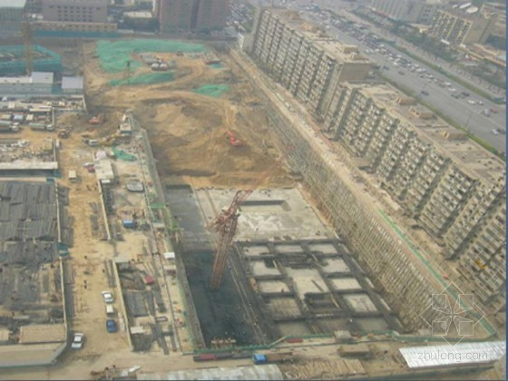 超深基坑围护结构及内支撑体系结构设计工程案例分析