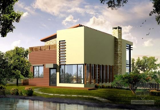 [汕头]3层别墅建筑安装工程量清单计价实例(含施工图纸)