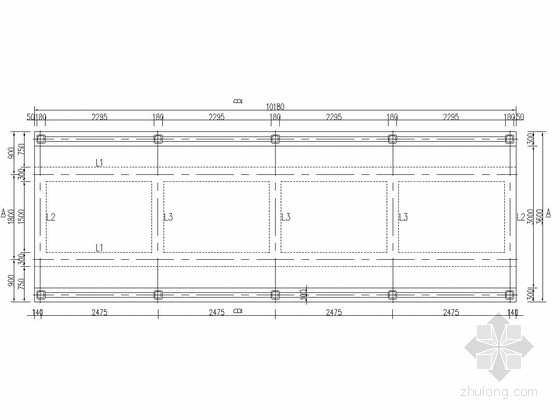 [湖南]水闸工作桥除险加固工程施工图(泄洪闸 灌溉闸)