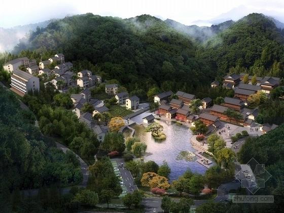 [杭州]寺庙外公共空间环境景观规划设计方案