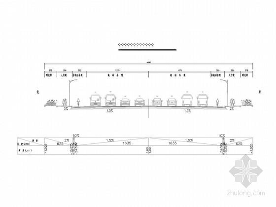 20~46m宽市政道路施工图46张(含挡土墙计算书 湖南)