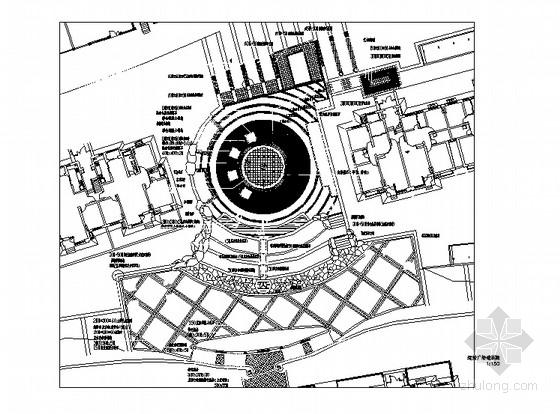 小区运动广场景观设计施工图