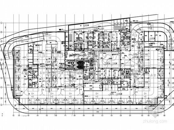 [上海]企业办公楼空调通风设计施工图纸(大院设计 地源热泵)