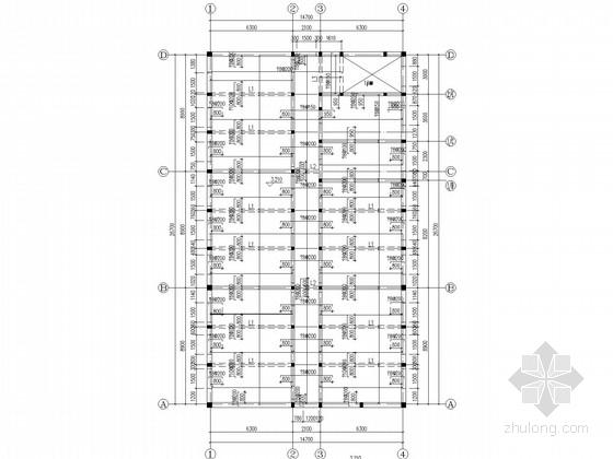四层砖混办公楼结构施工图