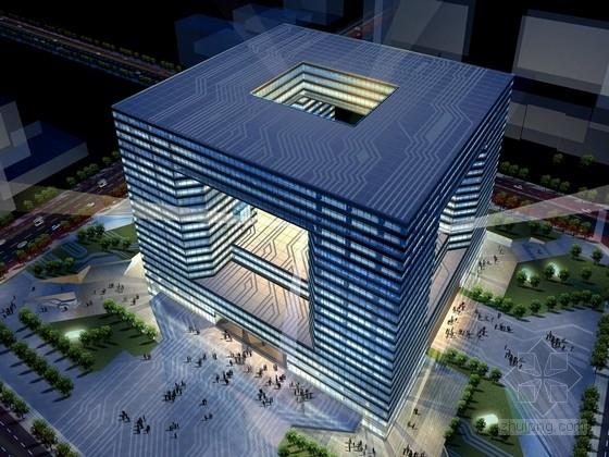 [山西]回字形现代科技研发中心建筑设计方案文本