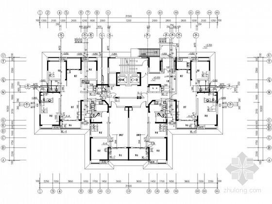[河南]高层住宅楼水暖施工图