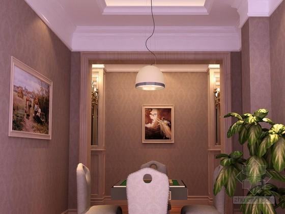麻将室3d模型下载